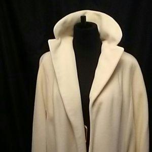 LaVigna Jackets & Coats - Vintage 100% Cashmere Winter White LaVigna  Coat
